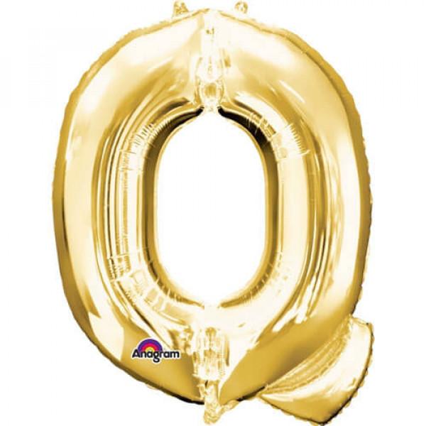 GOLDEN Q Letter Balloon
