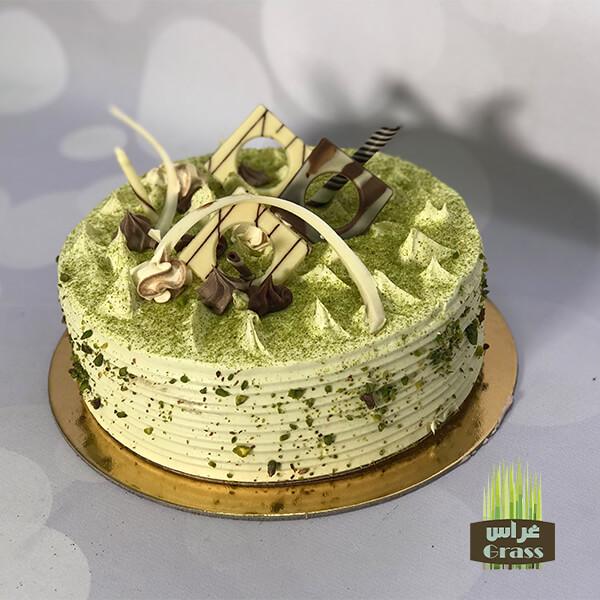 Pistachio White Cream