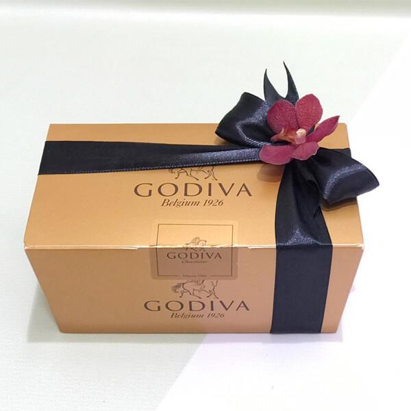 جوديفا شوكولاتة في علب بالوتين 350جرام