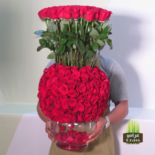 Luxurious Bouquet Red Roses
