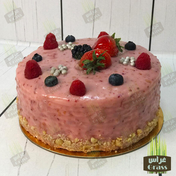 The Raspberry cake - large