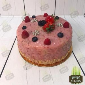 The Raspberry cake - small