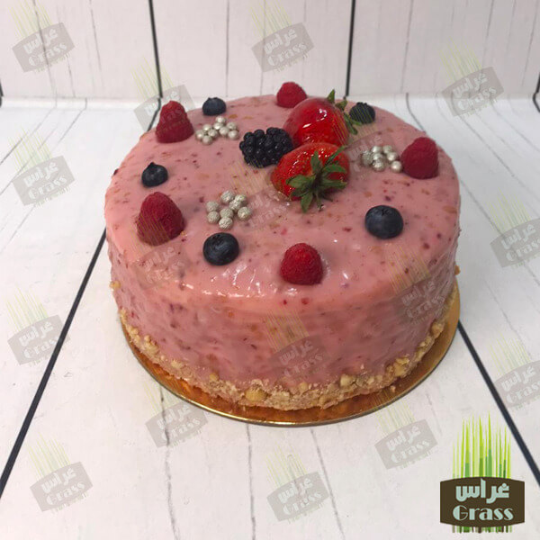The Raspberry cake - small