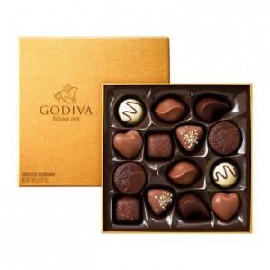 Godiva Gold Rigid Box - 14pcs